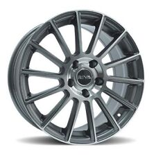 "Roues en Alliage X 4 17"" GMF Riva MBM Fit 5x112 VW Caddy Golf Passat Scirocco Sharan"