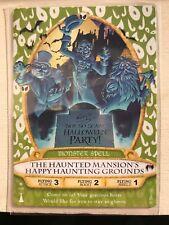 HAUNTED MANSION Halloween Card 2013 Disney SOTMK Sorcerers Magic Kingdom #03/P