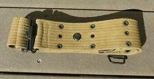 WW1 US Army Cavalry Military M1912 Pistol Belt Cotton Field Gear w/ Sword Loop