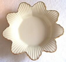 Vintage Lenox China Gold Leaf Meridian Collection Candy Dish Gold Mark, U.S.A.