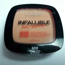 L'Oreal Paris Infallible Pro-Matte Powder -600 Golden Beige