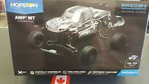 ECX 1/10 AMP MT 2WD Monster Truck Brushed Kit with Unpainted Body ECX03034