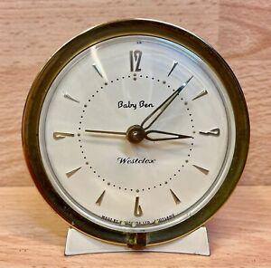 "Vintage Westclox ""Baby Ben"" Alarm Clock."
