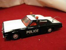 Dinky 1:36 Plymouth Gran Fury Dodge Monaco Police car near mint England