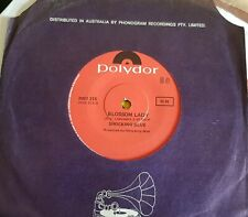 "SHOCKING BLUE 7"" BLOSSOM LADY AUSTRALIA"
