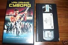 [3526] Cyborg (1989) VHS Van Damme