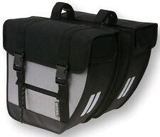 Basil Tour Doppelpacktasche Packtasche Fahrrad Tasche Gepäckträgertasche Silber