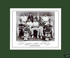 MOUNTED CRICKET TEAM PRINT - OXFORD UNIVERSITY - 1895