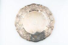 William B Durgin Argento Sterling da Portata Piatto CD Pavone 27.9cm (486g)