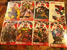 A + X 1-7, Avengers + X-Men Near Mint, 1:25 McGuiness Variant Never Been Read NM