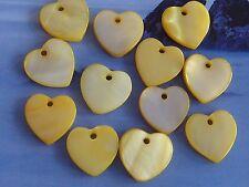 #9162 beige Sea Shell Chips Beads 9-11mm Muschel Perlen 39St