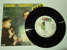 7'' Single Tauchen-Prokopetz DÖF, Codo REIN GAR NIX, Düse Im Sauseschritt 1983