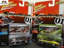 Johnny Lightning 1971 Pontiac GTO Spoilers Set of 2 Street Freaks R2 A&B - 17G
