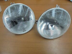 ALFA ROMEO GIULIA GTV 1750 2° SERIES PAIR OF CARELLO HEADLIGHT  H1 170MM NEWS