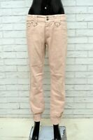 Pantalone MARLBORO CLASSICS Donna Taglia 32 Jeans Pants Woman Elastico Slim Fit
