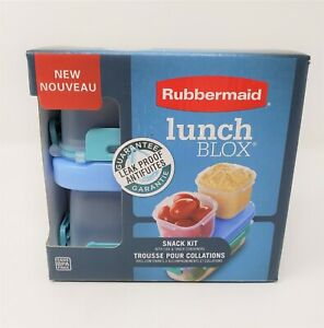 Rubbermaid Lunch Blox Snack Kit - New
