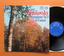 Tchaikovsky Symphony no. 4 Ladislav Slovak 1976 NM/EX Supraphon SQ 4 10 1749
