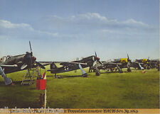 Postcard 1104 - Aircraft/Aviation Focke-Wulf-Jager FW 190 BMW motor