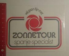 Aufkleber/Sticker: Zonnetour spanje specialist (27121628)