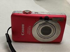 Canon IXUS 95 es la cámara digital PoderShot 10MP-Plata Roja