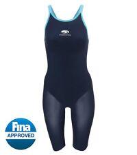 Blueseventy neroFIT Navy Blue Kneeskin Tech Suit Swimsuit Size W34