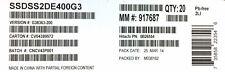 "Intel / Hitachi SSDSS2DE400G3 0B26554 Solid State Drive 400Gb SAS 2.5"""