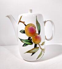 Royal Worcester EVESHAM GOLD Porcelain Coffee Pot w/Lid