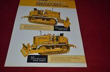 Fiat Allis Chalmers H-4 HD-4 Crawler Tractor Dozer Dealers Brochure DCPA6 Ver5