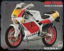 Gilera Sp 02 125 90 1 A4 Metal Sign Motorbike Vintage Aged