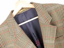 F624 GANT BLAZER JACKET ORIGINAL RETRO MADE IN PORTUGAL WOOL VINTAGE size 52