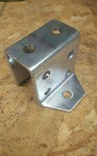 "Unistrut (p2329) 8-hole ""U"" bracket zinc"
