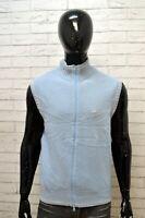 Maglione SERGIO TACCHINI Uomo Taglia XL Felpa Pullover Sweater Smanicato Lana