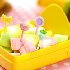 8x Cake Forks Candy Color Fruit Snack Dessert Fork for Party Fruit Pick Decor DS