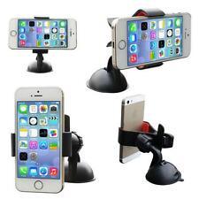 Universal Mobile Phone PDA Car Windscreen Suction Mount Holder Cradle Stand Blak