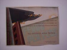 attestato HA OFFERTO ORO ALLA PATRIA Federazione Fasci di Combattimento Parma 36