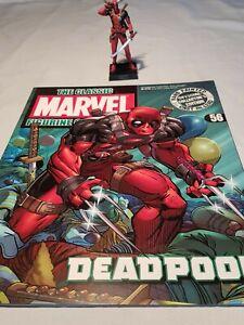 Eaglemoss Marvel Classic Lead Figure Deadpool + magazine #56