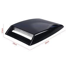 Car Front Bonnet ABS plastic 3D Simulation Air Flow Intake Scoop Vent Cover
