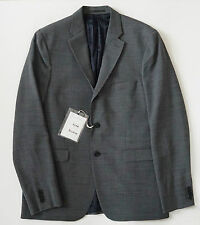 NWT Authentic ACNE STUDIOS *DRIFTER J STR* Gray Fitted Blazer 54 US-44