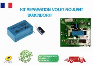 Kit Réparation VOLET ROULANT BUBENDORFF (depannage Moteur radio Bubendorff)