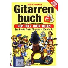 Gitarrenbuch Band 1 von Peter Bursch - Neuausgabe 2015 mit Lehrprogramm/Lehrvide