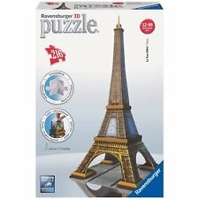 Ravensburger Puzzle 3D - Eiffel Tower Paris - 216 Pc - 125562