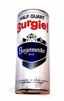 Burgermeister 16oz Pull Tab Top Beer Can Los Angeles A1 Soda Flat Sign Pabst Ofr