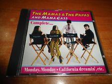 THE MAMAS & THE PAPAS AND MAMA CASS CD ALBUM DEL AÑO 1992 ESPAÑA DIVUCSA