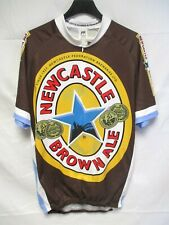 Maillot cycliste NEWCASTLE BROWN ALE 2012 cycling shirt jersey bière beer XXL