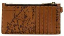 Patricia Nash Italian Leather ALMERIA Card Wristlet Zipper RIOT RUST NWT - B8