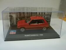 modelcar sc1/43 talbot samba gl 1982