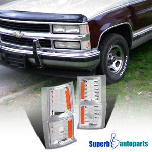 For 1994-1998 Chevy C/K 1500 2500 Silverado Tahoe Pickup Corner Signal Lights
