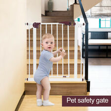 Child and Pet Gate Pressure Fix Extra Tall Safety Stair Gate 70x19cm UK