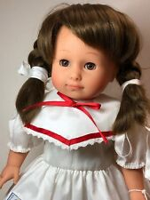 "16"" Gotz Limited Vinyl Little Sailor Girl Adorable Brunette All Vinyl W/ Tag #SA"