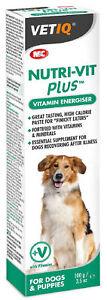 Vet IQ Nutri-Vit Plus Dog Pup High Calorie Vitamin Mineral Digest Recovery Paste